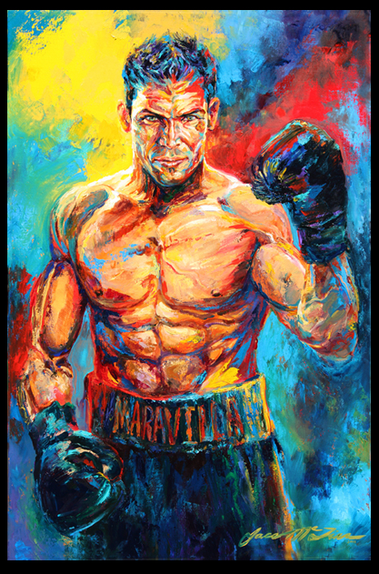 Jace McTier Boxing And Sporting Art